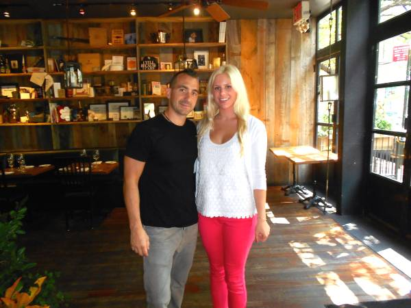 Elizabeth and Marc Forgione