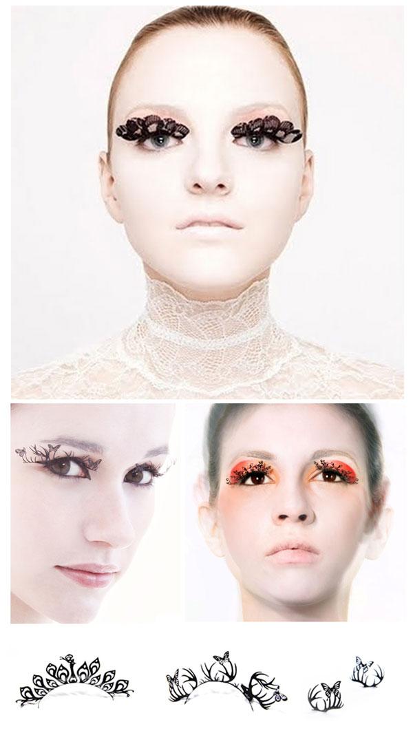 Paper-eyelashes