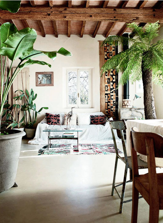 Exotic-living-room-elle-decor-uk