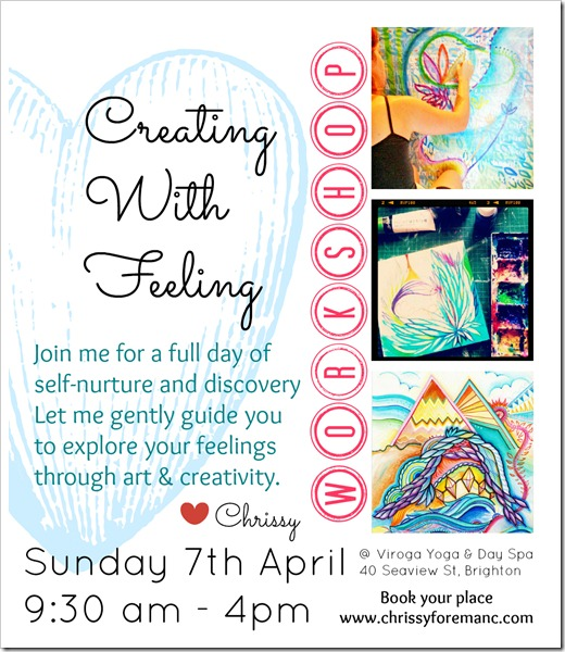 April 2013 Creating With Feeling flier