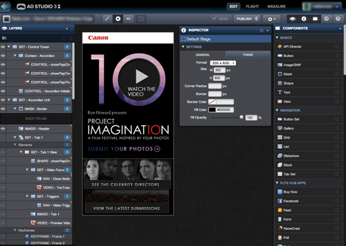 Flite Ad Studio screenshot