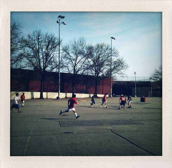 soccer, sunnyside ny, sunday, polaroids, shakeitphoto
