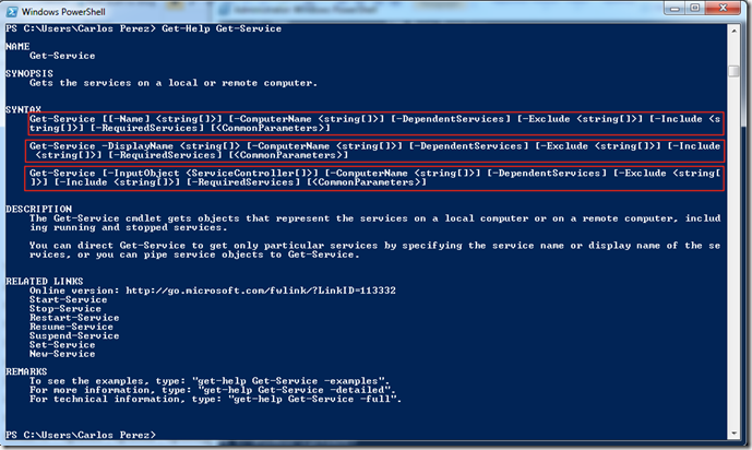 Introduction to Microsoft PowerShell– Basics of Running Cmdlets
