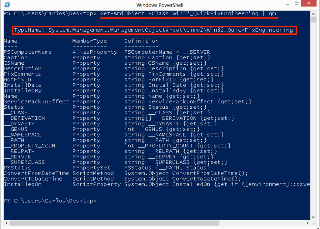Introduction to WMI Basics with PowerShell Part 1 (What it