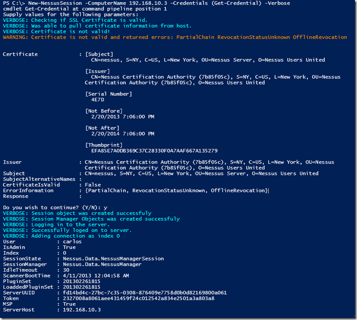 Using Posh-SecMod PowerShell Module to Automate Nessus (Part1)