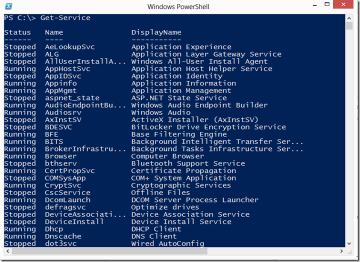 PowerShell Basics–Objects and the Pipeline