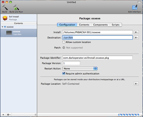 Evil Packaging on OSX with Xcode and Metasploit