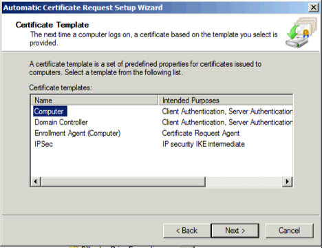 Configuring network level authentication for rdp now we select computer configurationpolicieswindows settingspublic key policies under that node we double click on certificate services client yadclub Gallery