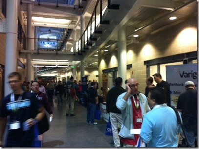 Roaming the hallways at SQL Saturday 174