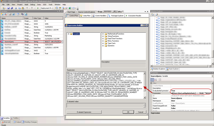 A Better Way to Work with SSIS Variable Expressions — SQL Chick