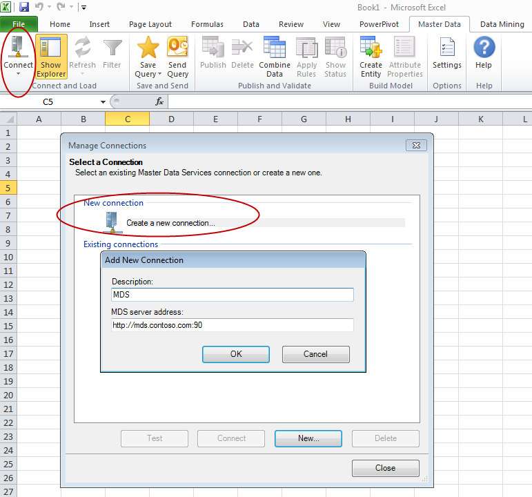 Connecting to MDS from the Excel Add-In — SQL Chick