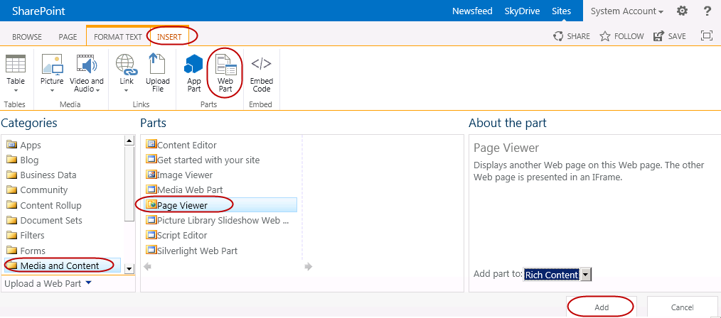 Displaying a Power View Report on a SharePoint Page — SQL Chick