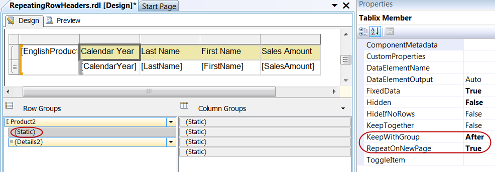 Repeating Column Headers on Every Page in SSRS Doesn't Work! …Or