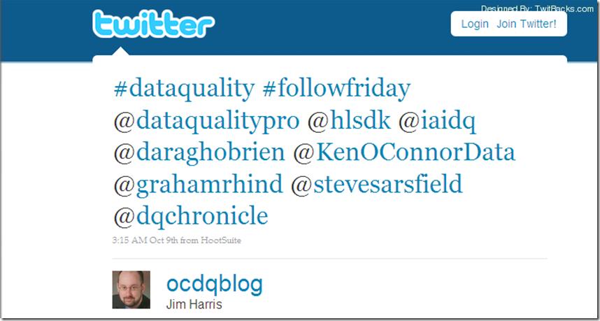Twitter FollowFriday 1