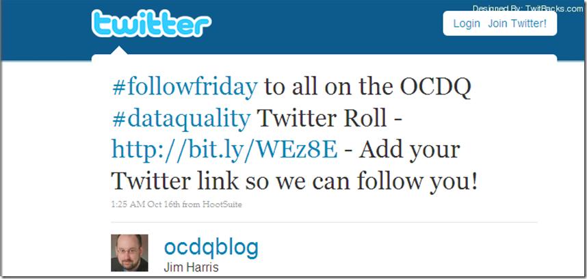 Twitter FollowFriday 3