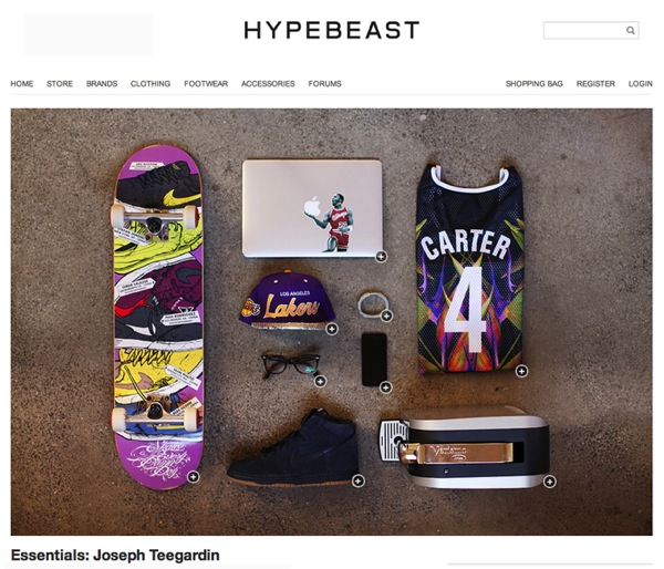 Essentials Joseph Teegardin Hypebeast