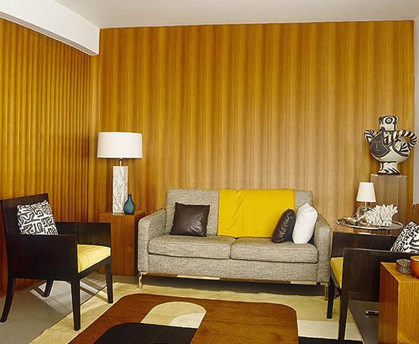 1950s modernism in Pimlico - a council flat conversion