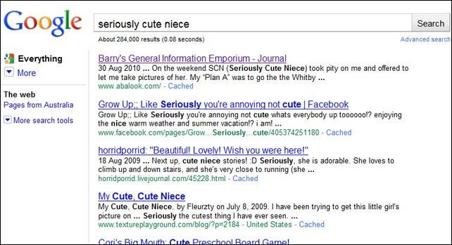 Google SCN noLiterals