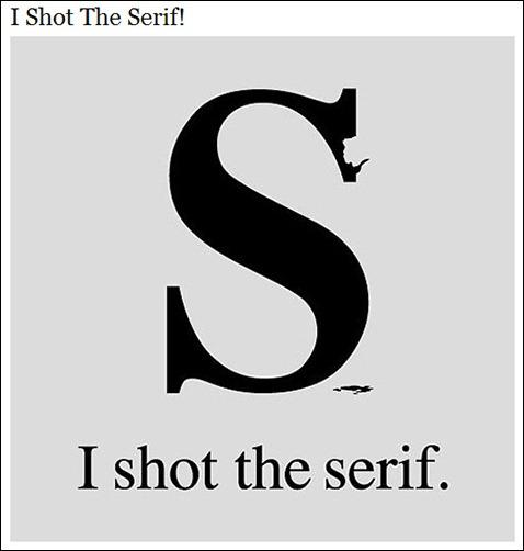ShotSerif
