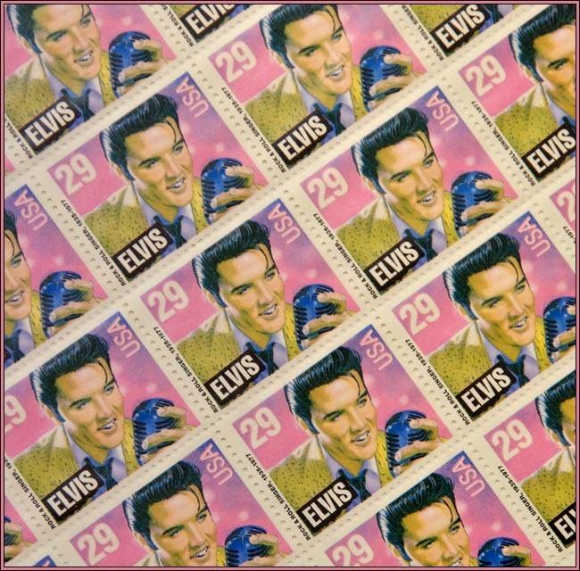 K-5 Elvis Stamps