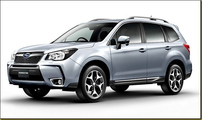 2014ForesterSilver