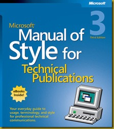 MS Style Guide